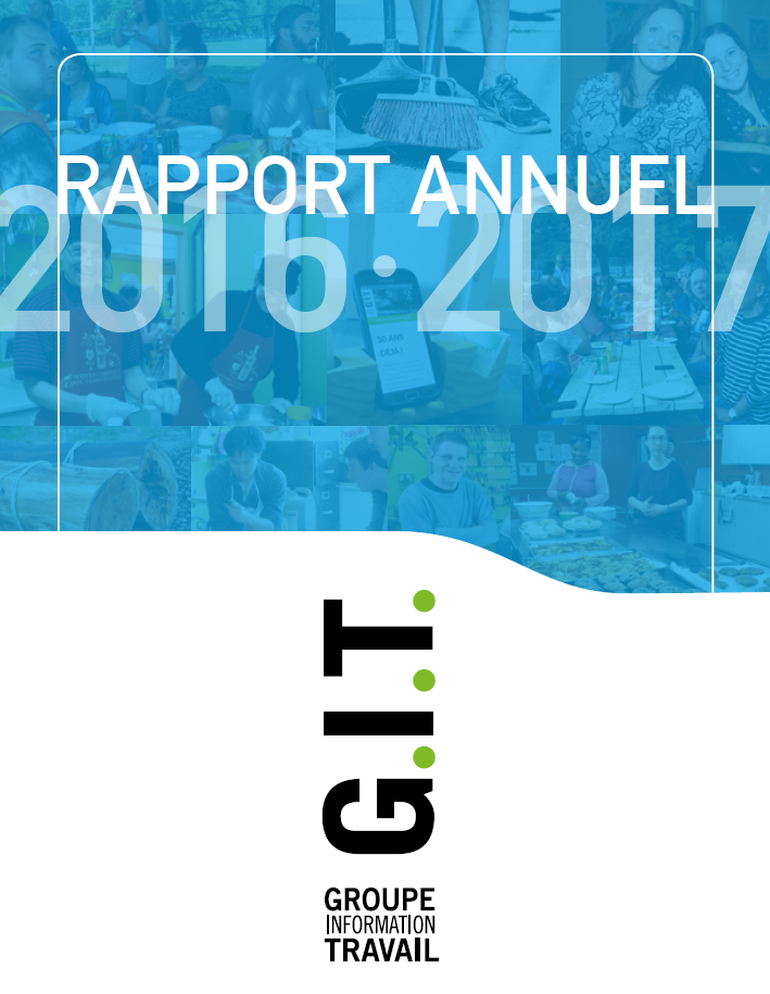 Groupe Info Travail - Rapport annuel 2016-2017